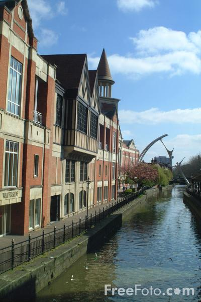 Picture of Waterside Shopping Centre, Lincoln, England - Free Pictures
