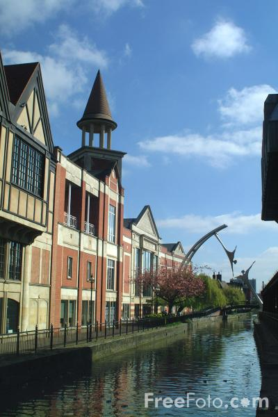 Picture of Waterside Shopping Centre, Lincoln, England - Free Pictures - FreeFoto.com