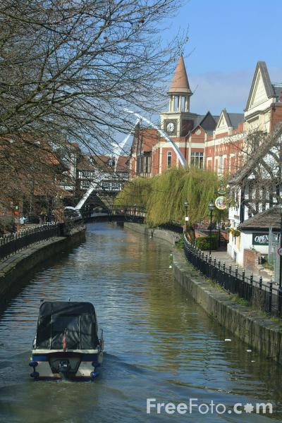 Picture of Waterside, Lincoln, England - Free Pictures - FreeFoto.com