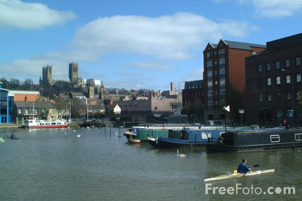 Picture of Brayford Wharf, Lincoln, England - Free Pictures - FreeFoto.com