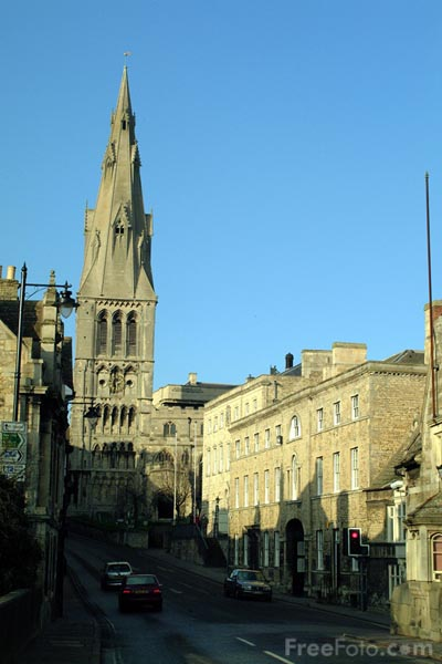 Picture of St. Mary's Church, Stamford - Free Pictures - FreeFoto.com