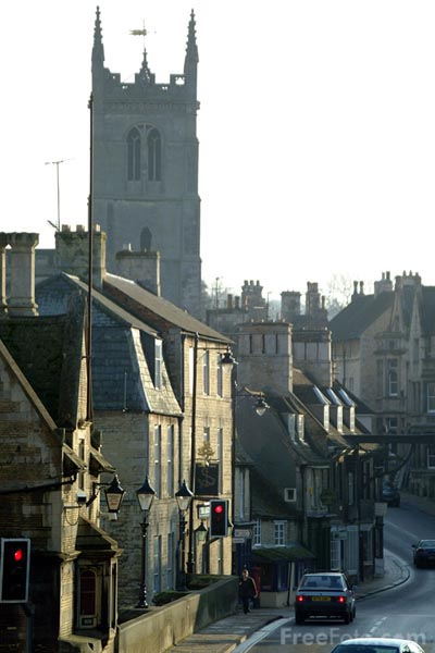 Picture of St. Martin's Church, Stamford - Free Pictures - FreeFoto.com