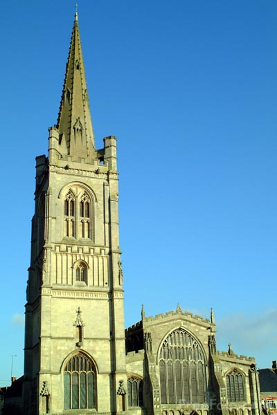 Picture of All Saints Church, Stamford - Free Pictures - FreeFoto.com