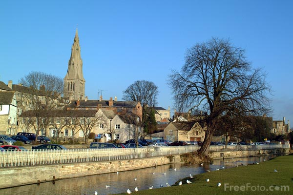 Picture of The River Welland, Stamford - Free Pictures - FreeFoto.com