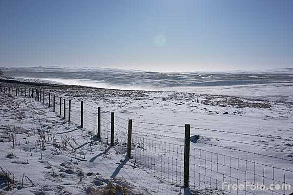 Picture of Winter in the North Pennines AONB - Free Pictures - FreeFoto.com