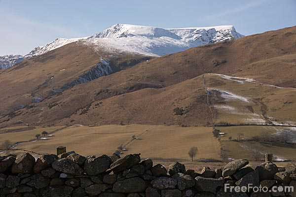 Picture of The Northern Fells including Blencathra in early Spring - Free Pictures - FreeFoto.com