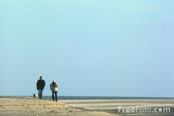 Picture of Beach, Alnmouth - Free Pictures - FreeFoto.com