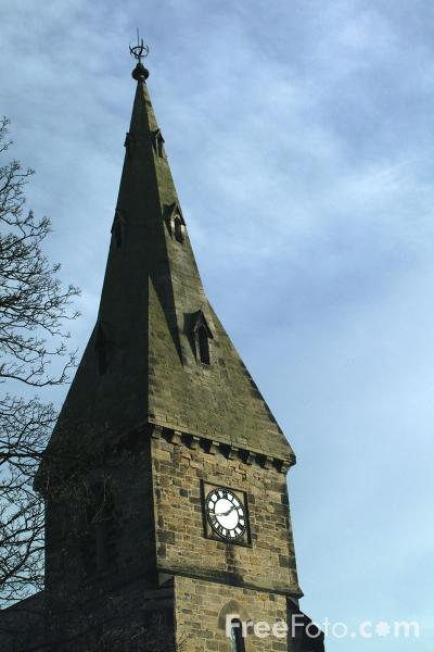 Picture of St. John's Anglican Church, Alnmouth - Free Pictures - FreeFoto.com