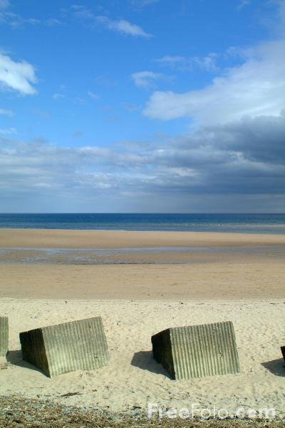 Picture of Second World War coastal defences, Alnmouth - Free Pictures - FreeFoto.com