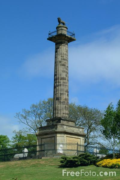 Picture of Percy Tenantry Column, Alnwick, Northumberland - Free Pictures - FreeFoto.com