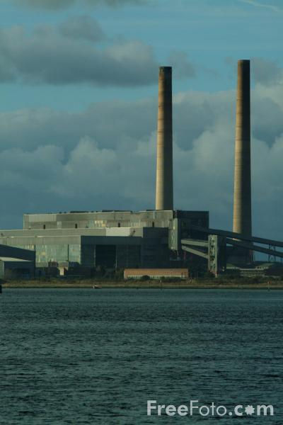 Picture of Blyth Power Station, Northumberland - Free Pictures - FreeFoto.com