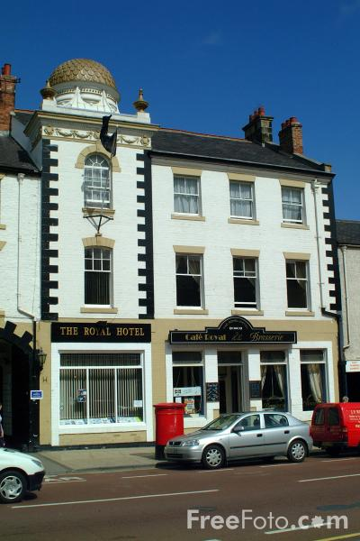 Picture of The Royal Hotel, Hexham - Free Pictures - FreeFoto.com