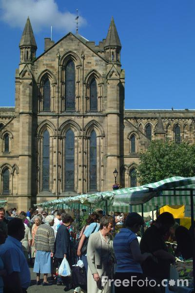 Picture of Hexham Market - Free Pictures - FreeFoto.com