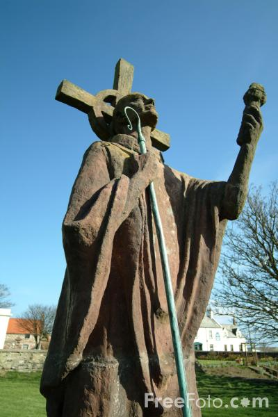 Picture of Saint Aidan, Holy Island, Northumberland - Free Pictures - FreeFoto.com