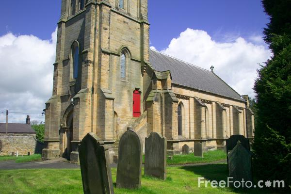 Picture of Matfen, Northumberland - Free Pictures - FreeFoto.com