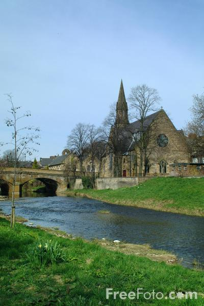 Picture of The River Wansbeck, Morpeth - Free Pictures - FreeFoto.com
