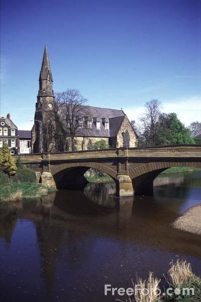 Picture of Bridge over the River Wansbeck - Free Pictures - FreeFoto.com