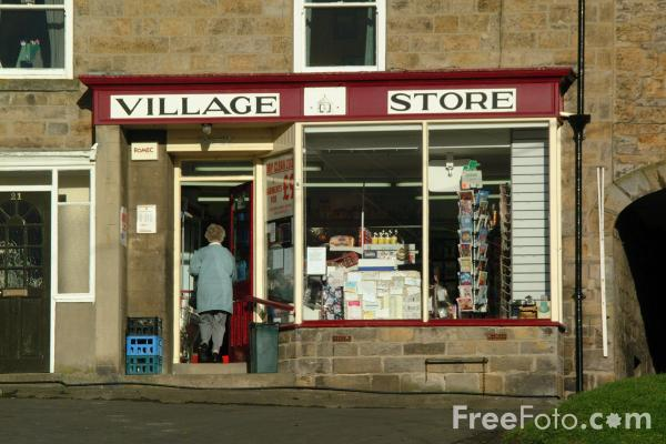 Picture of Stamfordham, Northumberland - Free Pictures - FreeFoto.com