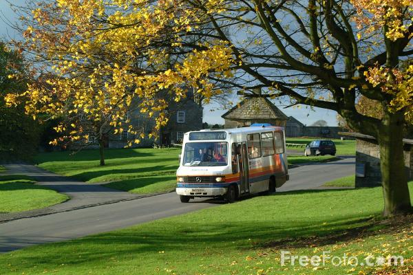 Picture of Stagecoach Rural Bus Service, Stamfordham, Northumberland - Free Pictures - FreeFoto.com
