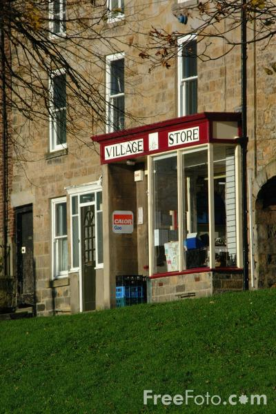 Picture of Village Store, Stamfordham, Northumberland - Free Pictures - FreeFoto.com