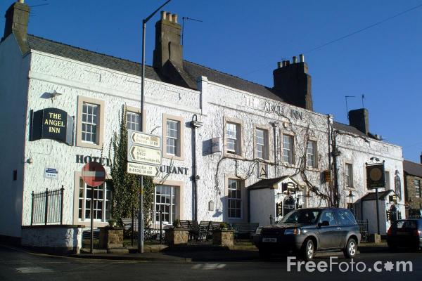 Picture of The Angel Inn, Corbridge - Free Pictures - FreeFoto.com