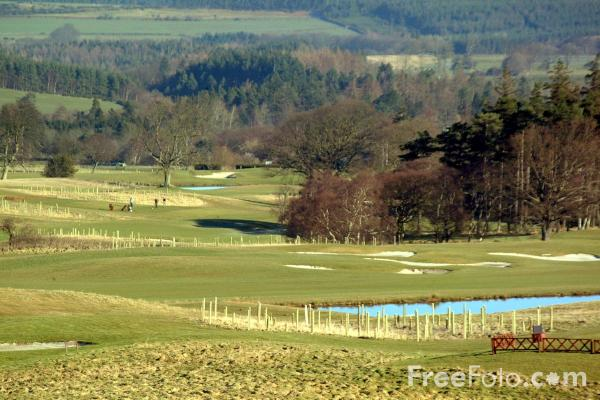 Picture of Slaley Golf Course - Free Pictures - FreeFoto.com