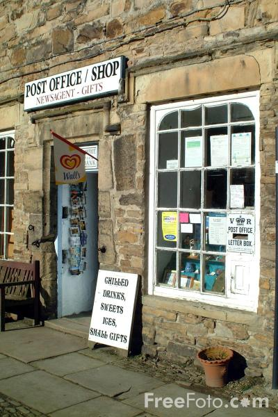 Picture of The Post Office, Blanchland - Free Pictures - FreeFoto.com