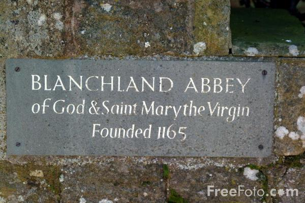 Picture of Blanchland Abbey - Free Pictures - FreeFoto.com
