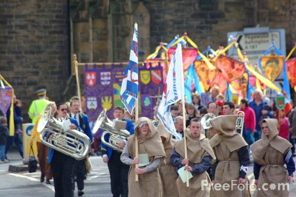 Picture of Morpeth Northumbrian Gathering - Free Pictures - FreeFoto.com