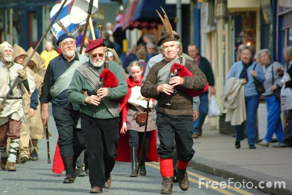 Picture of The Border Cavalcade, Morpeth Northumbrian Gathering - Free Pictures - FreeFoto.com