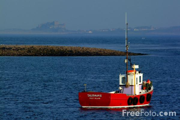 Picture of 13th Century Parish Church, Holy Island - Free Pictures - FreeFoto.com