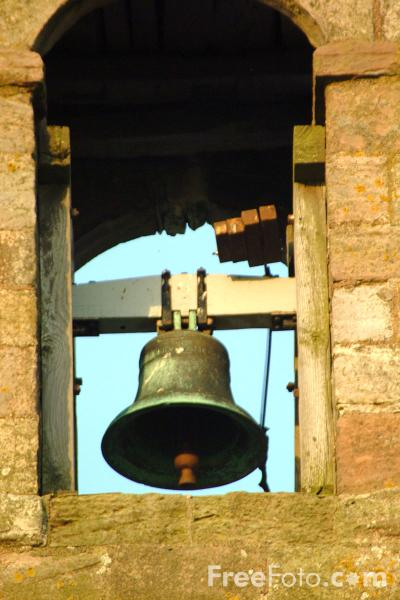 Picture of Church Bell, The Parish Church of St.Mary the Virgin - Free Pictures - FreeFoto.com