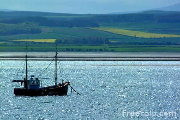 Picture of Fishing Boat, Holy Island - Free Pictures - FreeFoto.com