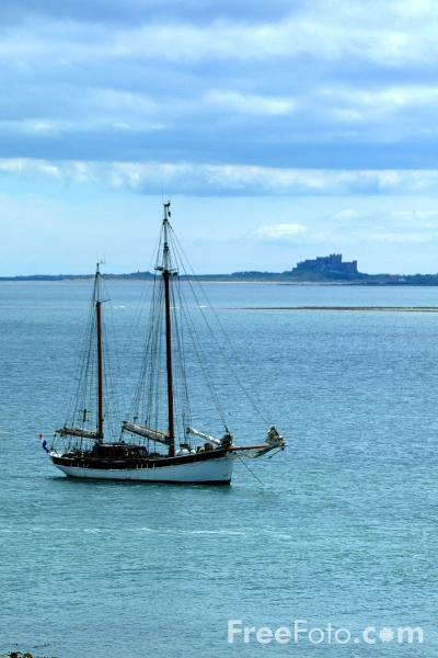 Picture of Boat, Holy Island - Free Pictures - FreeFoto.com
