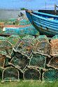 Image Ref: 1033-31-61 - Lobster Pots, Holy Island, Viewed 4358 times