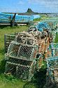 Image Ref: 1033-31-62 - Lobster Pots, Holy Island, Viewed 4300 times