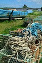 Image Ref: 1033-31-63 - Lobster Pots, Holy Island, Viewed 4328 times