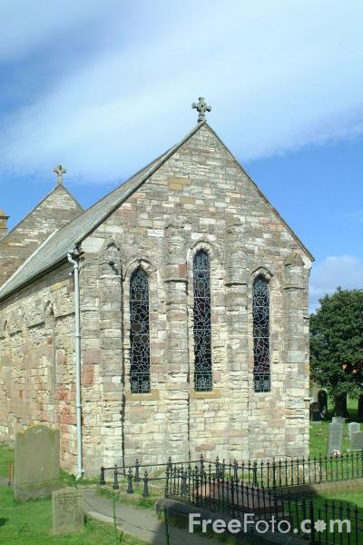 Picture of The Parish Church of St.Mary the Virgin, Holy Island - Free Pictures - FreeFoto.com