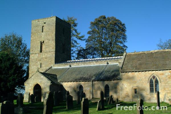 Picture of St Andrew C of E Church, Bolam, Northumberland - Free Pictures - FreeFoto.com