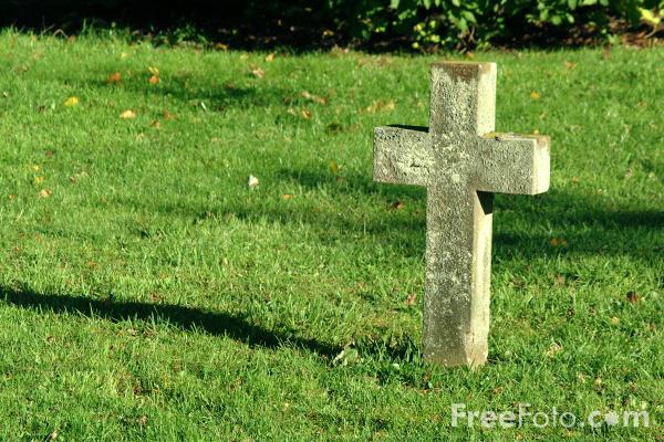 Picture of Cross, St Andrew C of E Church, Bolam, Northumberland - Free Pictures - FreeFoto.com