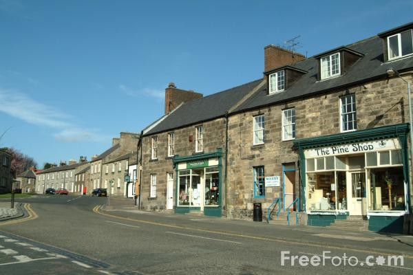 Picture of Belford, Northumberland - Free Pictures - FreeFoto.com