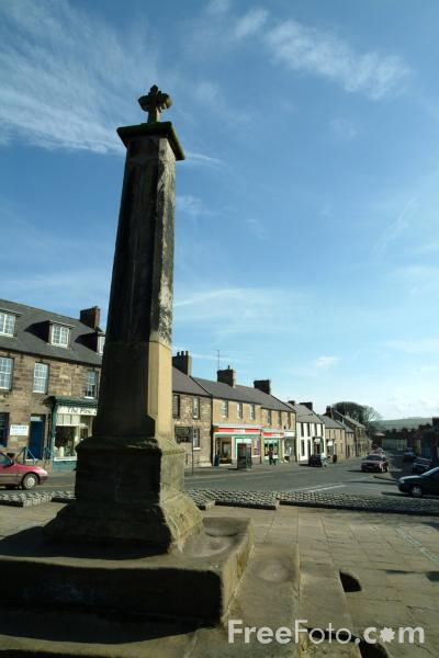 Picture of The Market Place, Belford, Northumberland - Free Pictures - FreeFoto.com