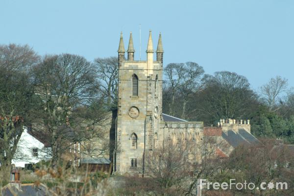 Picture of St. Mary's Anglican Church, Belford, Northumberland - Free Pictures - FreeFoto.com
