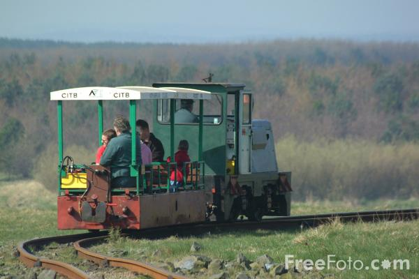 Picture of Railway Ride, Woodhorn Colliery, Northumberland - Free Pictures - FreeFoto.com