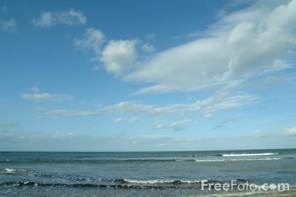 Picture of Northumberland Coast, England - Free Pictures - FreeFoto.com
