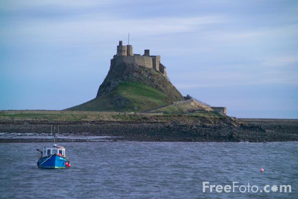 FreeFoto.com - Holy Island and Lindisfarne