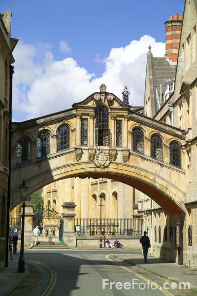Picture of Hertford Bridge, New College Lane, Oxford, England - Free Pictures - FreeFoto.com