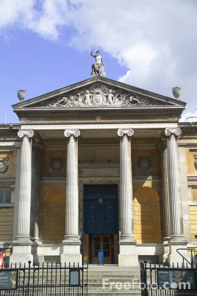 Picture of Ashmolean Museum, Beaumont Street, Oxford, England - Free Pictures - FreeFoto.com
