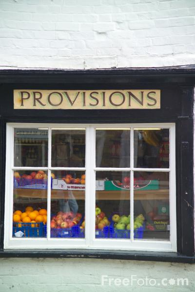 Picture of Village Shop, Goring, Oxfordshire, England, - Free Pictures - FreeFoto.com
