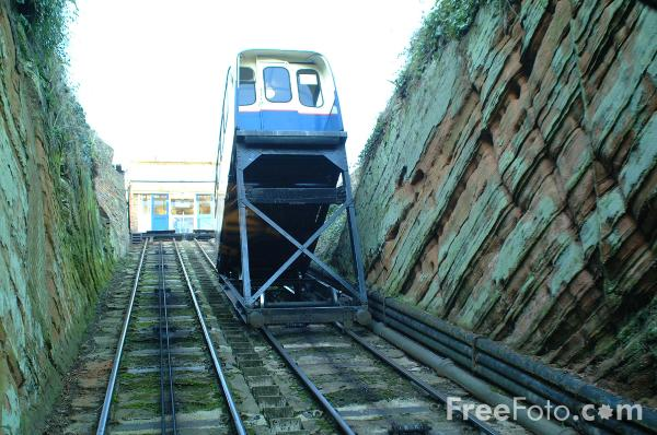 Picture of Bridgnorth Castle Hill Cliffe Railway - Free Pictures - FreeFoto.com